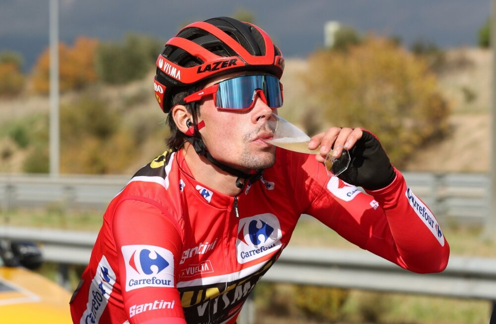 Primož Roglič võis Vuelta viimasel etapil võitjana šampanjat rüübata.