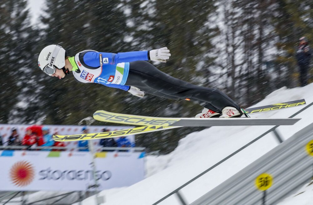 Artti Aigro pääses MK-etapil võimsa hüppega lõppvõistlusele