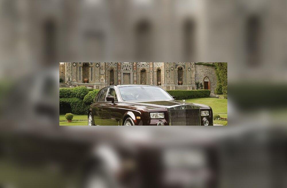 Rolls-Royce Phantom on kinkide kink