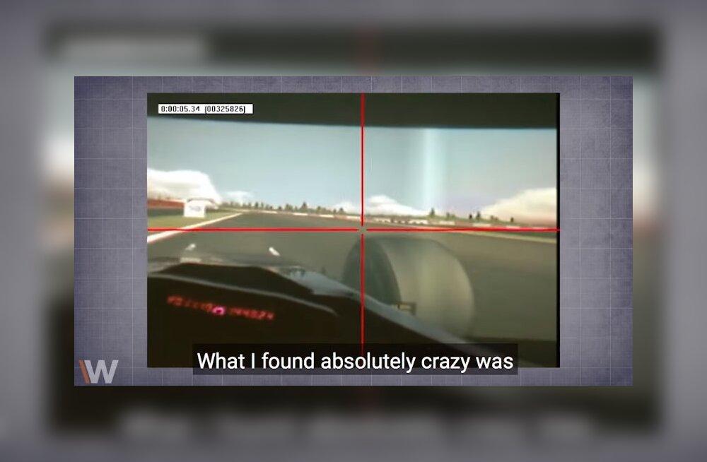 VIDEO | Vaata, kui drastiliselt erineb vormelisõitja silmade töö tavainimesest