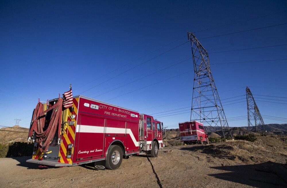 Californias ootab põlenguohu tõttu ennetavalt elektrita jäämine veel 1,5 miljonit inimest