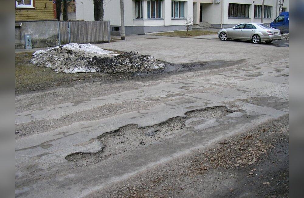 Ilma maasturita Tallinna teedel varsti ei saa
