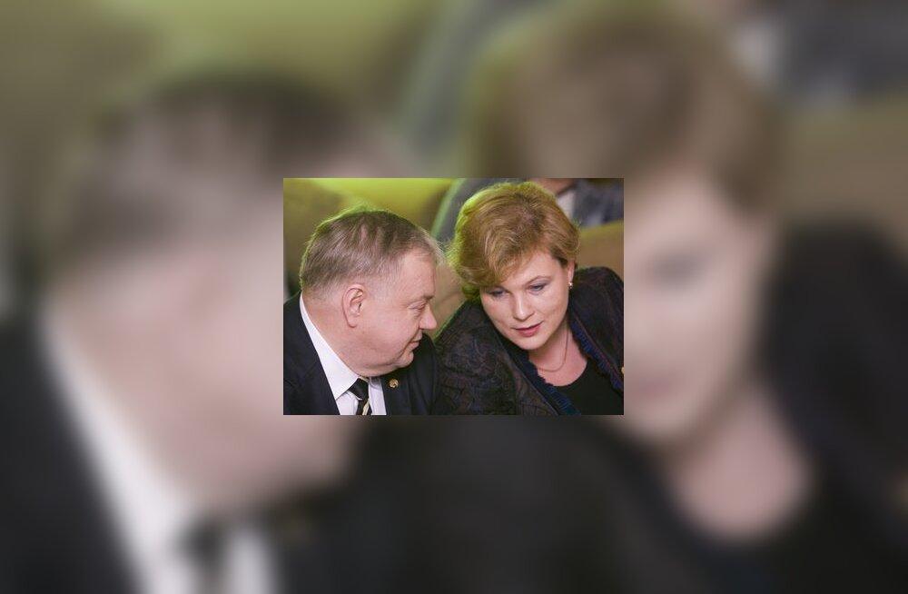 Villu Reiljan ja Ester Tuiksoo