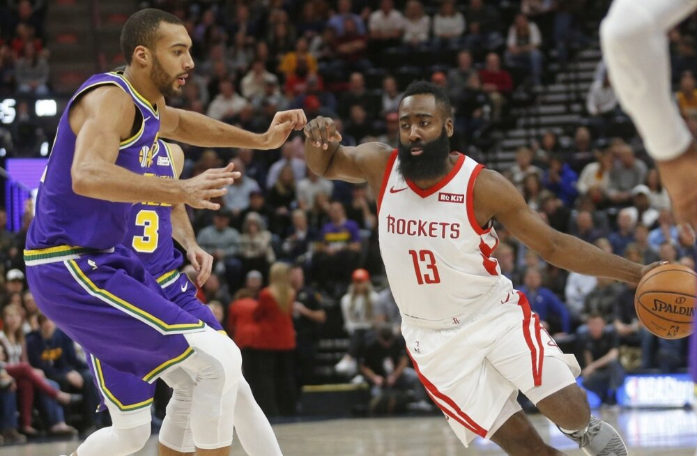 Rudy Gobert ja James Harden
