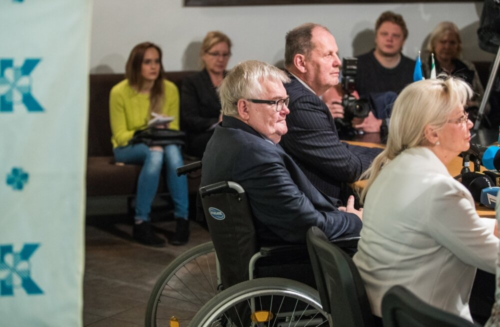 Edgar Savisaar tutvustab uusi volikogu kandidaate