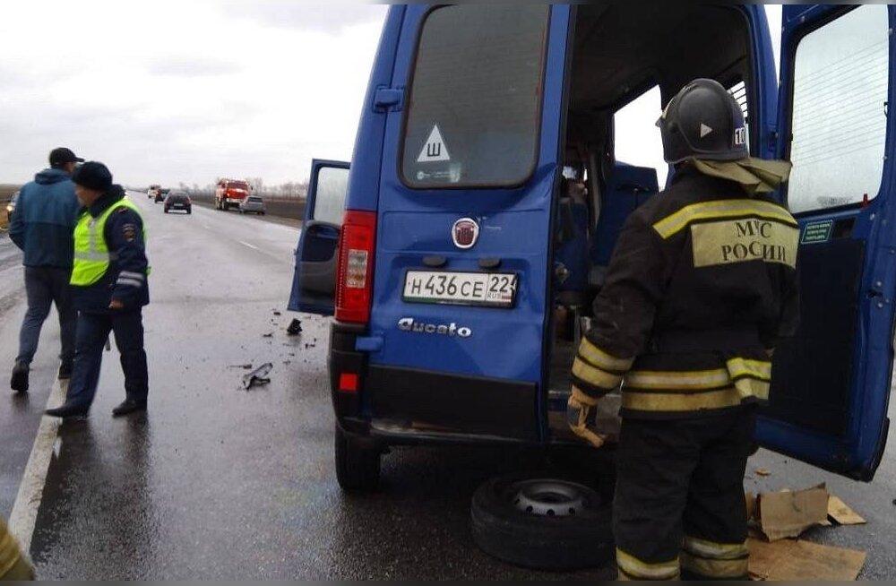 Venemaal hukkus üliraskes liiklusõnnetuses kaheksa inimest
