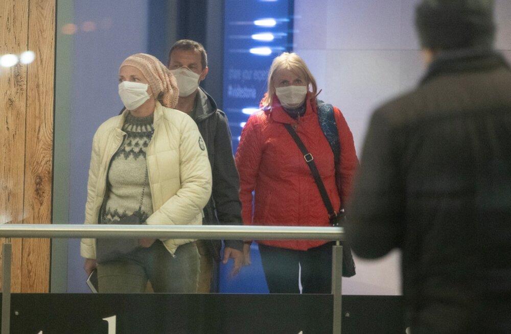 Читатель: я недавно прибыл из поездки. Что мне делать? Как добраться до дома из Таллиннского аэропорта? Будет ли кто-то проверять, что я действительно не выхожу на улицу?