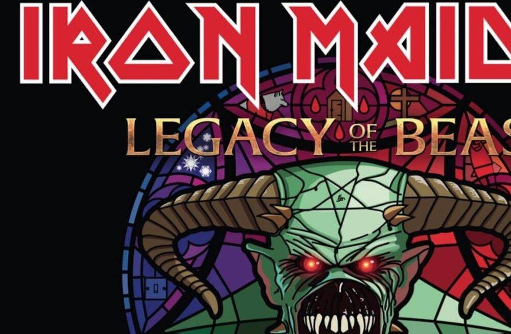 Rokisõbrad hõisake! Legendaarne Iron Maiden tuleb Eestisse