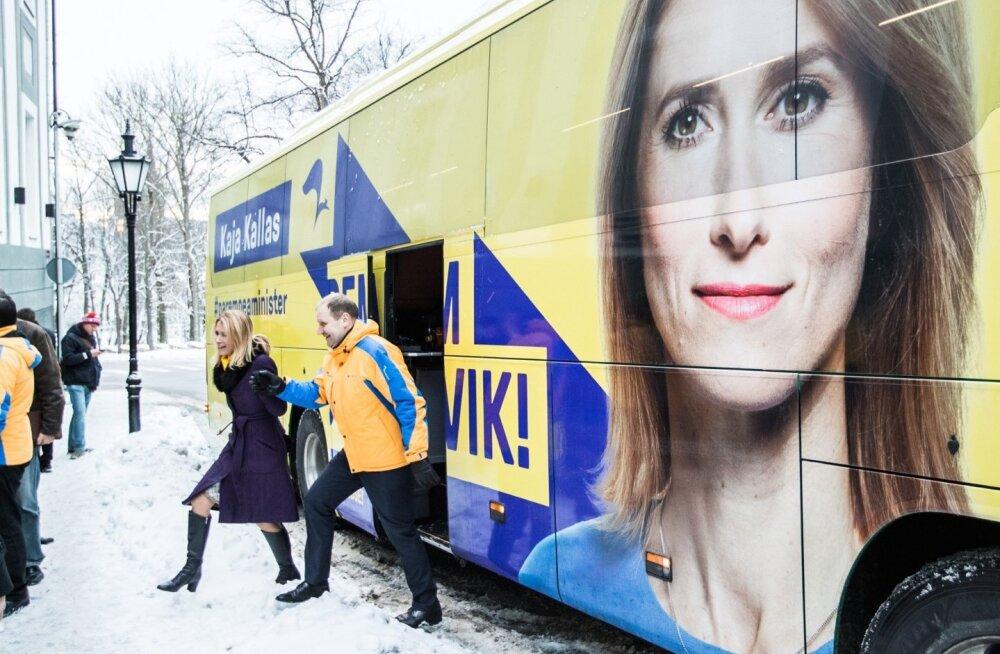 """KUULA   Reformierakonna saade """"Paremad jutud"""": Kaja Kallas ja Jürgen Ligi selgitavad, kuidas tänase valitsuse maksupoliitika meid põhja viib"""