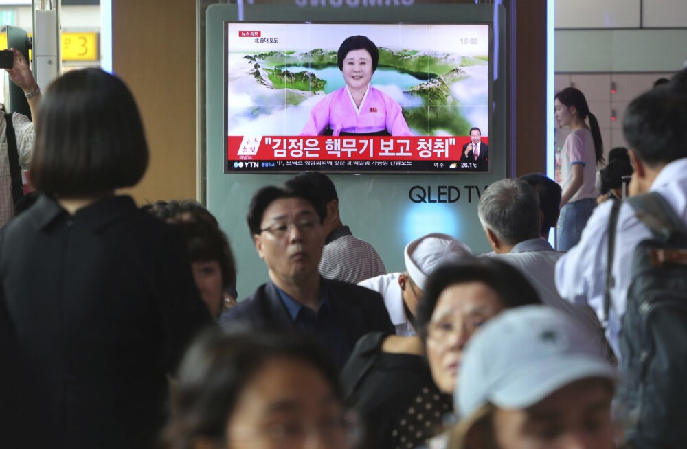 Kronoloogiline järjekord: Põhja-Korea kuus tuumakatsetust