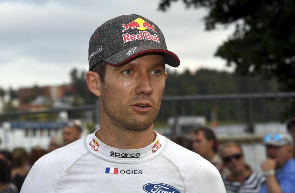 Viiekordset maailmameistrit ootab ees tiimivahetus? Sébastien Ogier peab läbirääkimisi tänavuse WRC-sarja nõrgima meeskonnaga