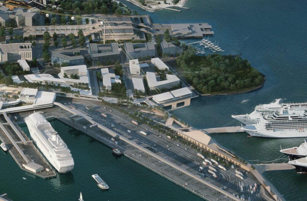 Смотрите, как будет выглядеть территория Старого порта после застройки