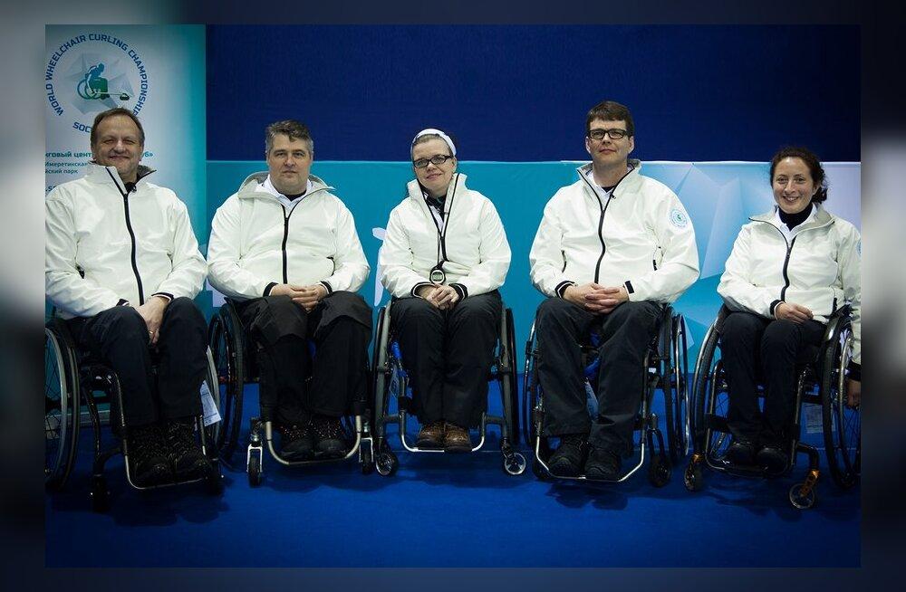 Soome ratastooli curlingukoondis 2013. aasta MMil