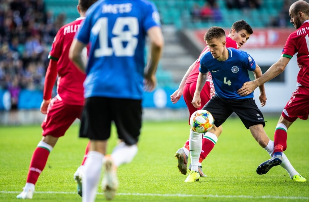 Tallinnas toimunud kohtumises teenis Valgevene (punases) teise lisaminuti väravaga 2 : 1 võidu. Nüüd kohtutakse Minskis uuesti.