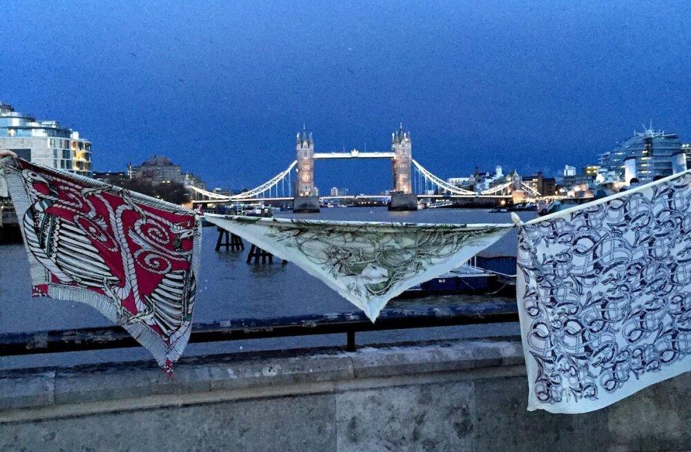 Moeillustraator Kätlin Kaljuvee looming valiti Londonis eksklusiivsele väljapanekule