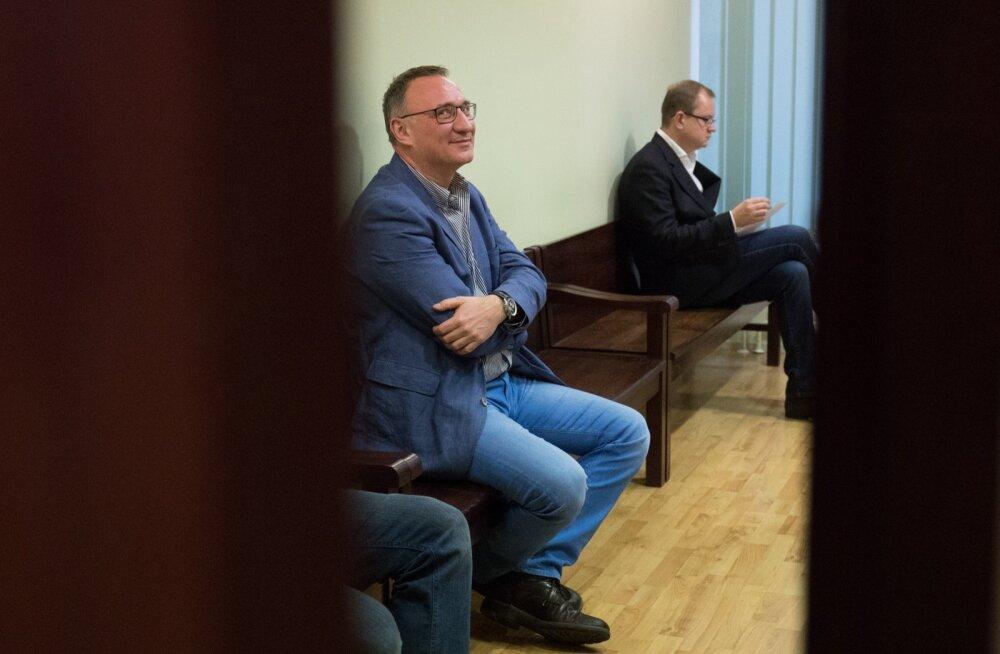 Marcel Vichmann ja Oliver Kruuda 2017. aastal kohtus