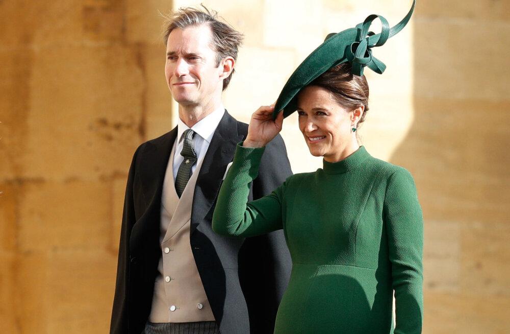 Nüüd on teada! Pippa Middleton ja James Matthews teatasid, mis nad oma pojale nimeks panid