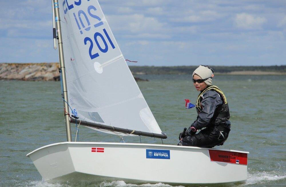 Kaarel Paal Saaremaa Merispordi Seltsi regatt 2015 finaalid