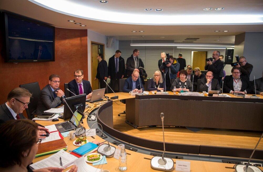 Soome suurim ametiühinguorganisatsioon kiitis esialgselt heaks valitsusega sõlmida kavatsetava ühiskondliku leppe