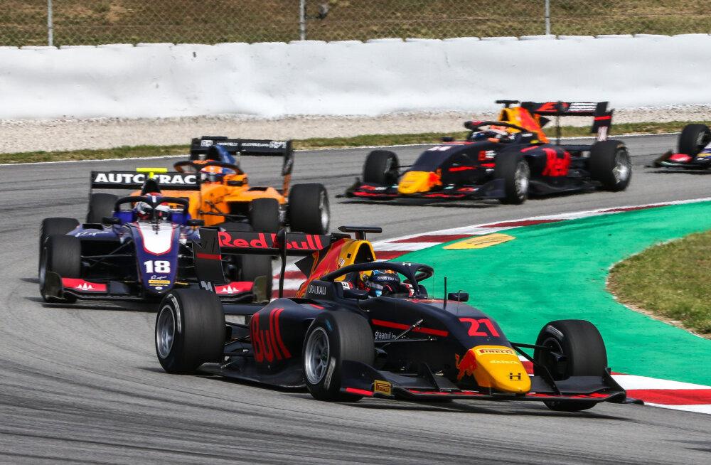 DELFI BARCELONAS | BLOGI | Vinge etteaste teinud Jüri Vips kerkis uue F3 sarja debüütsõidus viis kohta