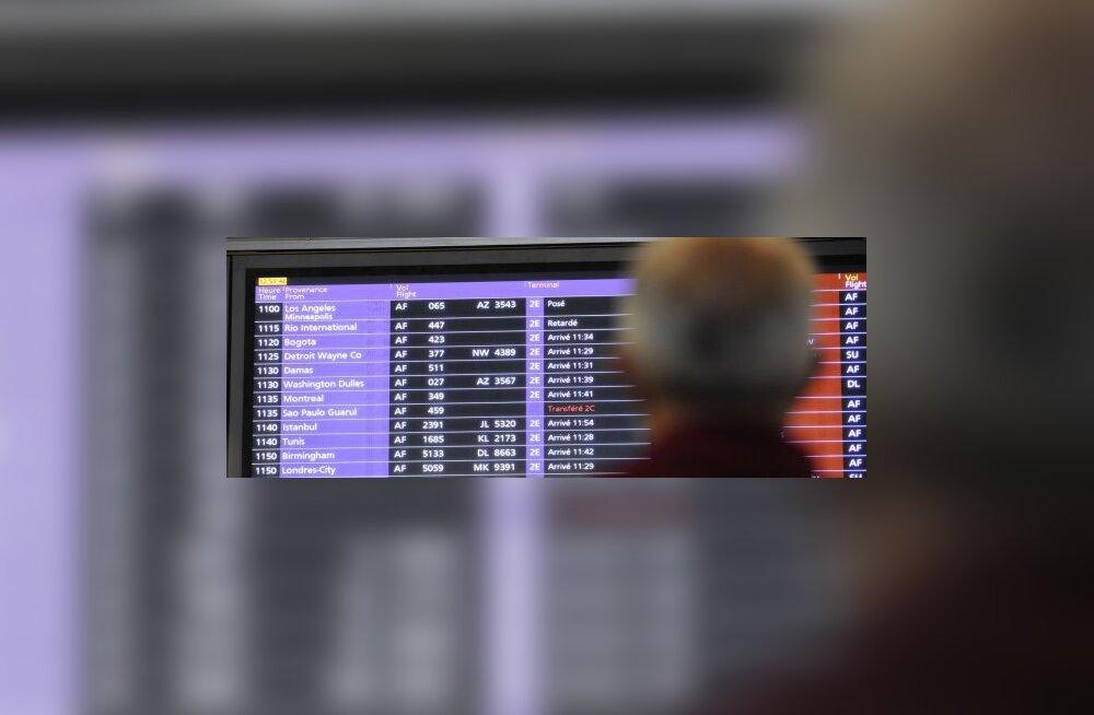 Pommihirm tühjendas NYC lennujaama terminali