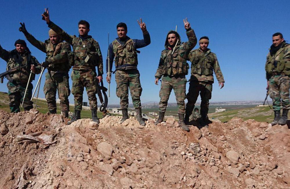 Süüria valitsusväed võtsid tagasi strateegiliselt olulise tugipunkti
