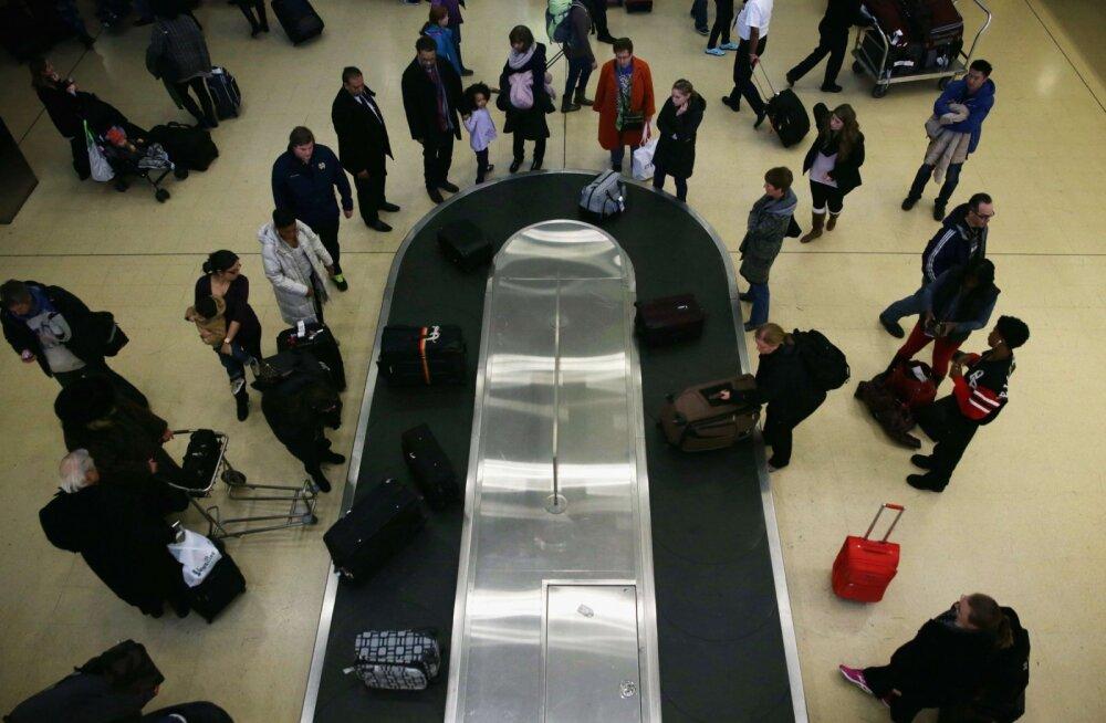 Kaks nippi, kuidas oma kohver lennujaamas pakilindilt esimesena kätte saada