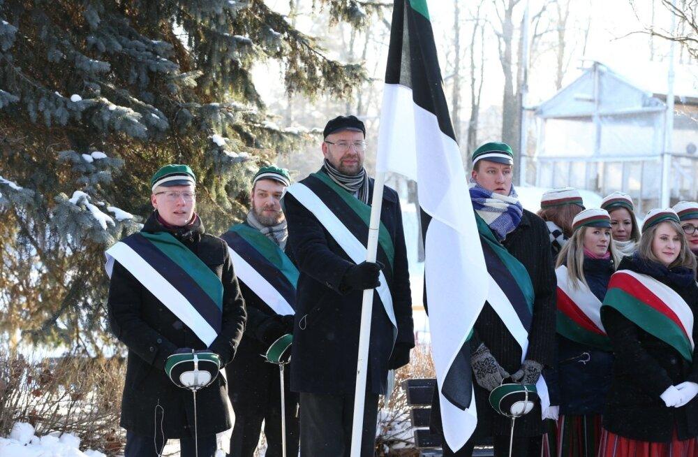 ФОТО: В Тарту прошло торжественное построение бойцов Кайтселийта