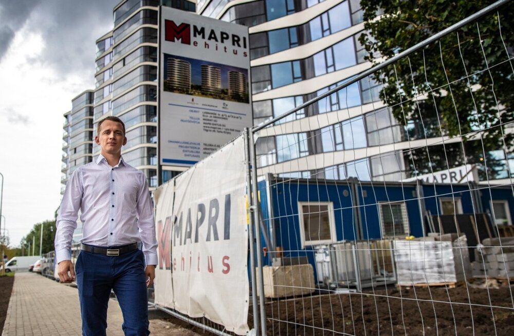 Mapri Ehituse tegevjuht Tarmo Roos