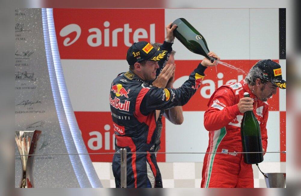 Vettel ja Alonso