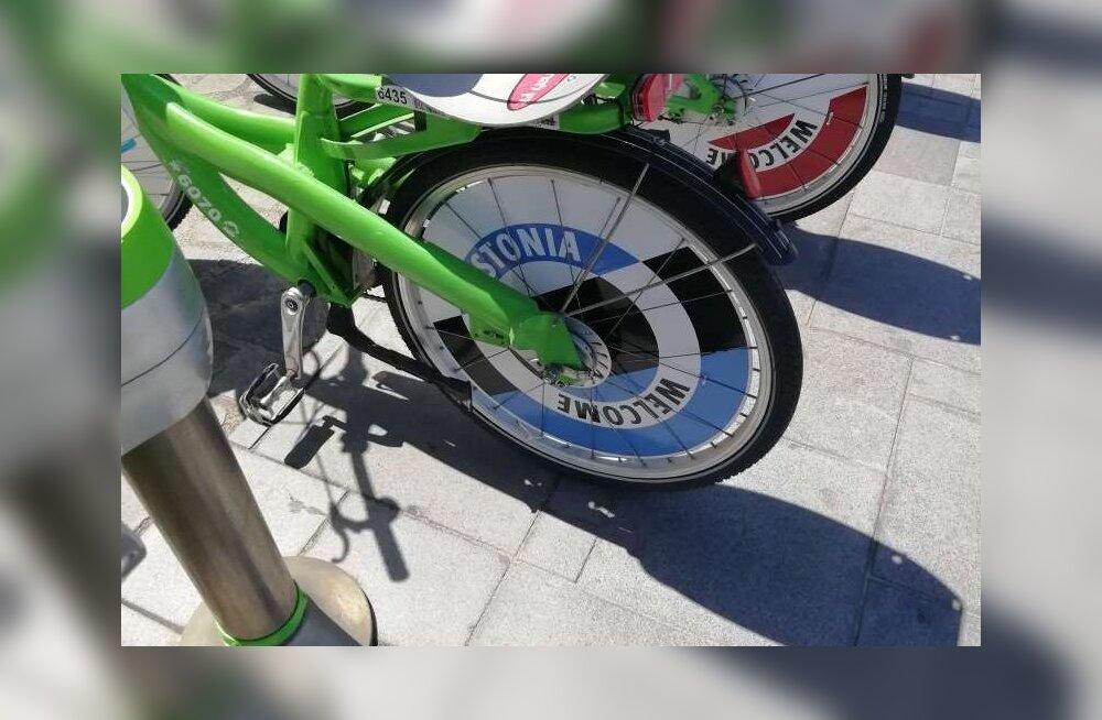 KLÕPS | Väga vahva! Vaata, milliste ägedate ratastega tervitab Tel Aviv eestlasi oma linna