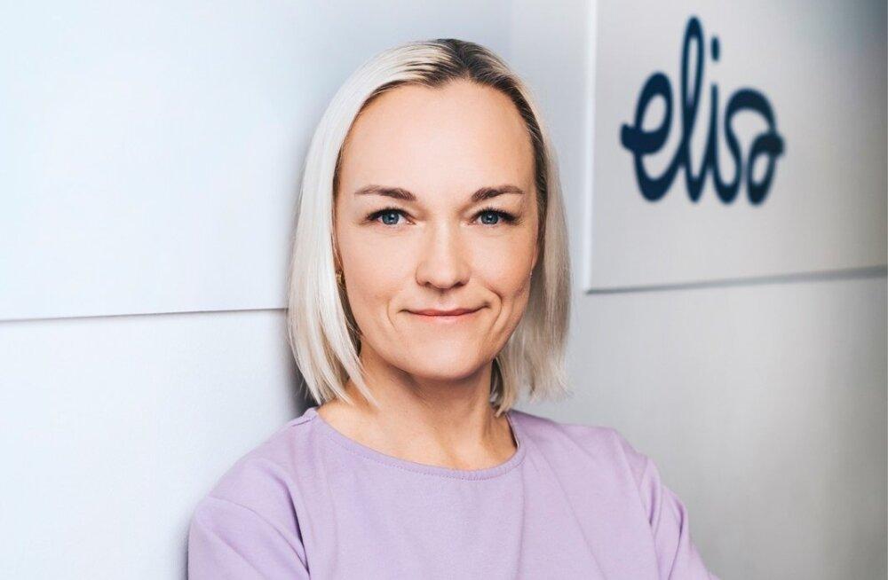 Elisa personalijuht Kaija Teemägi.
