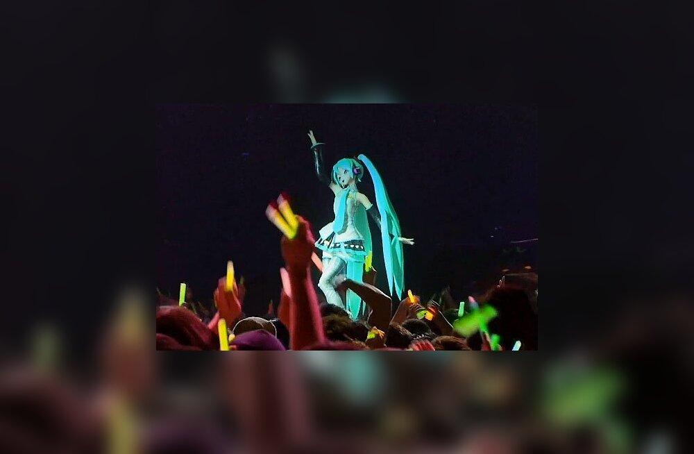 Jaapanis loodud hologrammtäht on popmuusika tulevik?