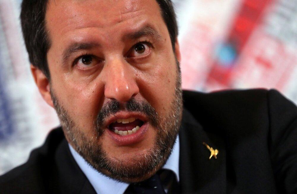 Itaalia asepeaminister Salvini: Prantsusmaal pole mingit huvi Liibüa stabiliseerimise vastu