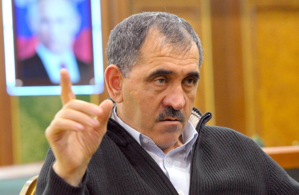 Inguššia president Jevkurov teatas tagasiastumisest