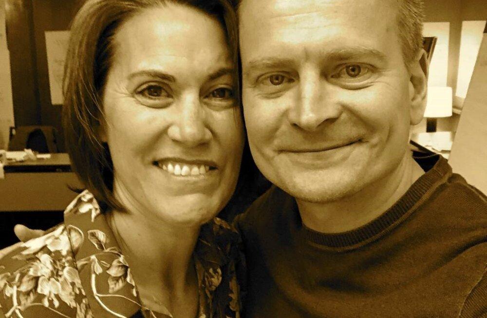 Amy Davis-Bruner ja Veiko Valkiainen.
