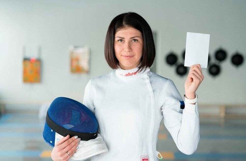 Epeevehklemise maailmameister Julia Beljajeva
