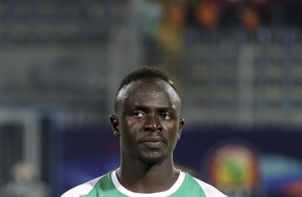 Liverpooli tähe Sadio Mane väravad aitasid Senegali kaheksandikfinaali