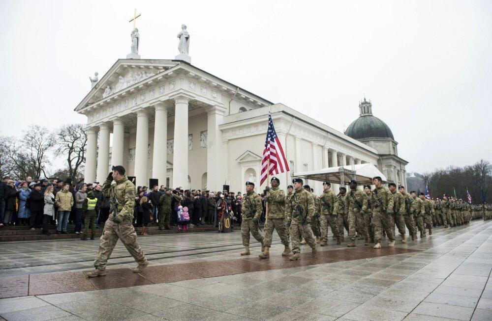 Reuters kuulutab, et närvilised Balti riigid on sõjaseisukorras