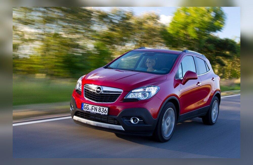 Uus Opel Mokka: Annab palju, võtab vähe