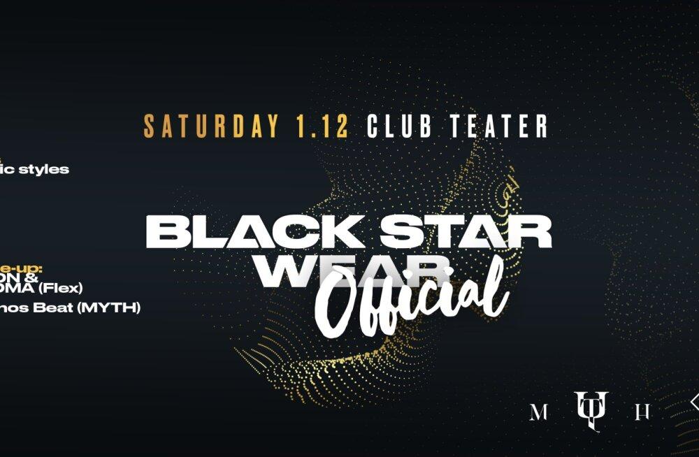 Впервые в Таллинне — Black Star Wear Official Afterparty