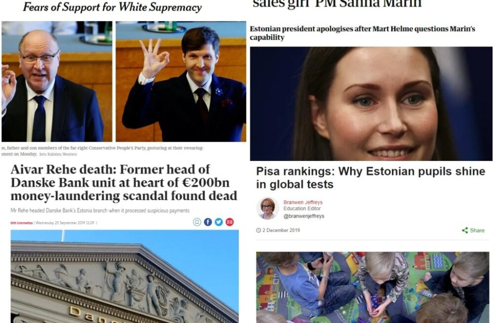 Eesti kuvand välismeedias 2019. aastal