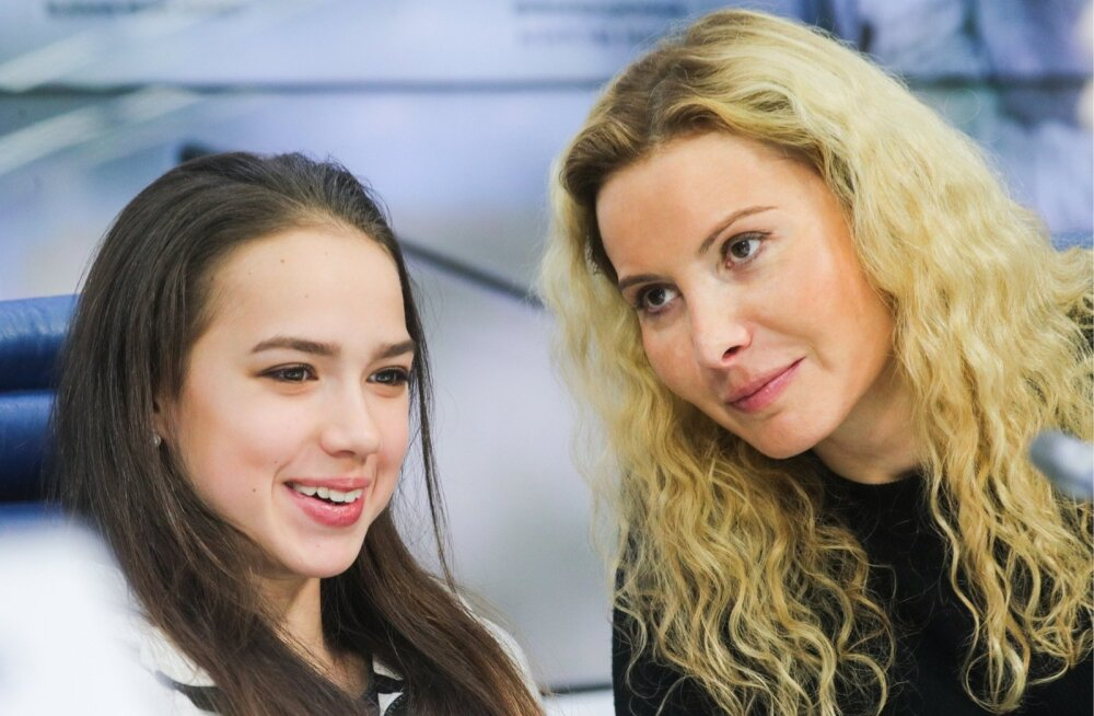 Alina Zagitova ja Eteri Tutberidze