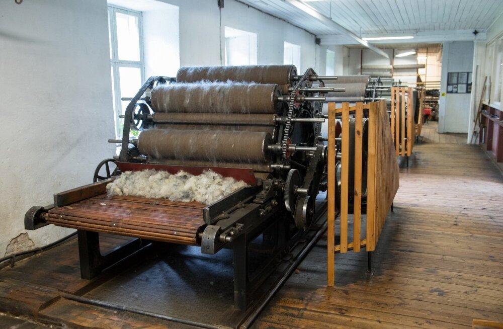 Vanad masinad on head ka selle poolest, et sobivad hästi jämedama villa töötlemiseks.