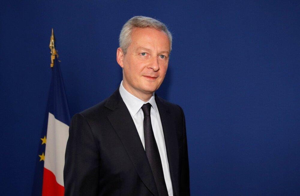 Prantsusmaa keeldub kaubandusläbirääkimistest USA-ga, kuni karistustollid jõus on