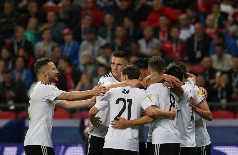 Saksamaa ja Tšiili kindlalt Maailmajagude turniiri nelja parima hulgas