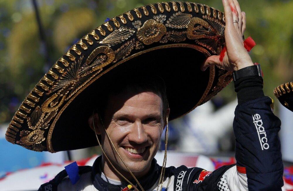 Sébastien Ogier'l on põhjust naeratada, sest ta palk on muljet avaldav.