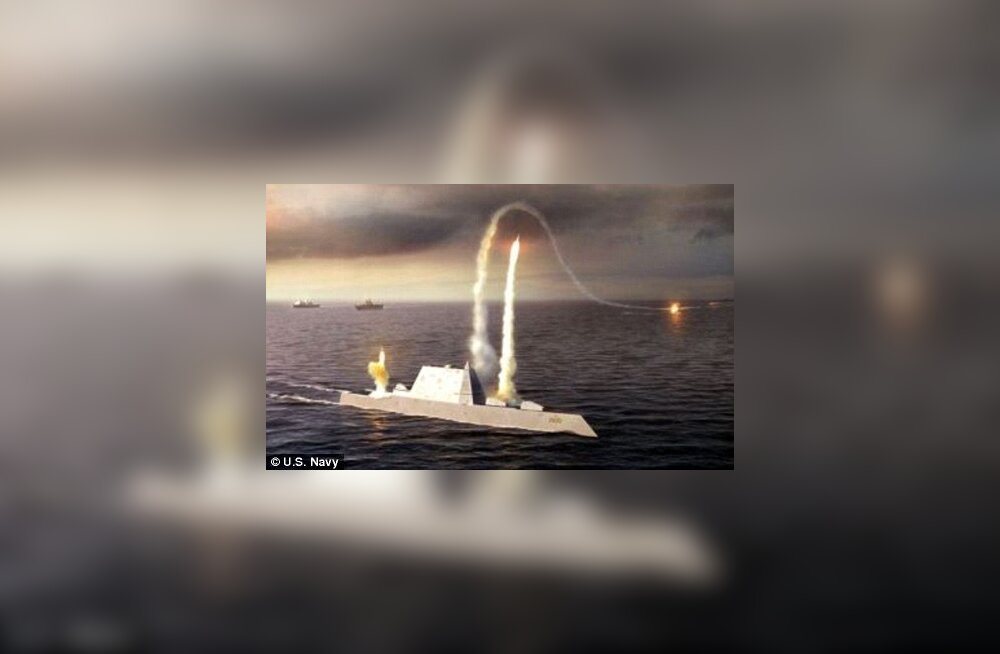 Kunstniku nägemus Zumwalt-klassi hävitajast DDG 1000 USA mereväele. Venemaal on kavas sama?