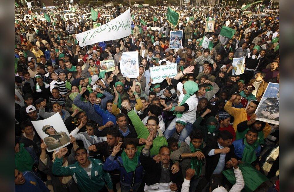 Araabia Liiga peatas vägivallast haaratud Liibüa liikmesuse