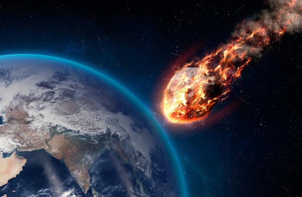 Saurusetapja asteroid lõi mere happeliseks